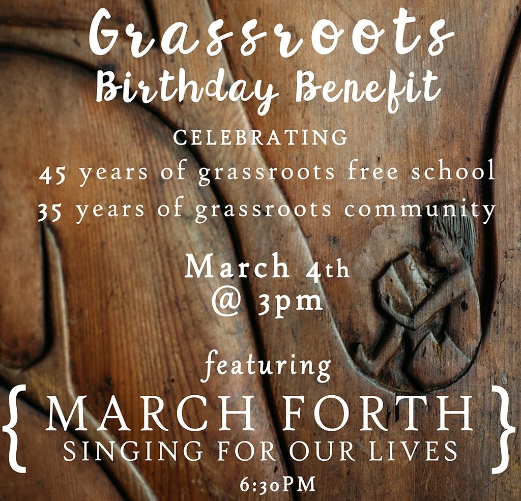 Grassroots Birthday Party!