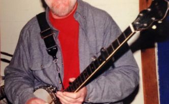 Pat could be counted on to bring out his banjo and sing whenever he had the chance.